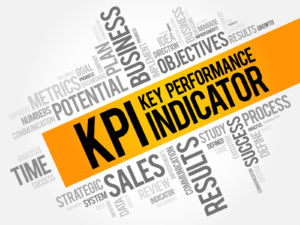KPI - Key Performance Indicator word cloud collage business concept background